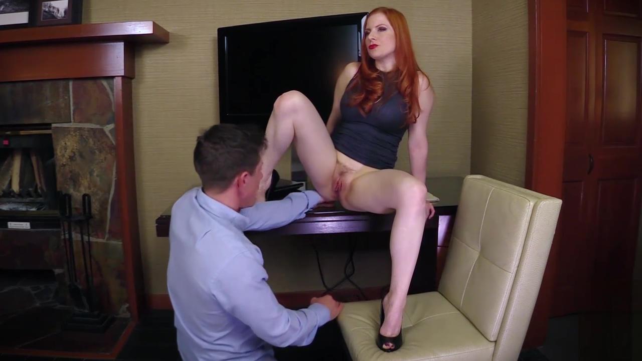 Video 1143610204: lady fyre, rimming femdom, rimming hairy, femdom bdsm, high heels femdom, hairy red head, femdom office, hd rimming, horny boss