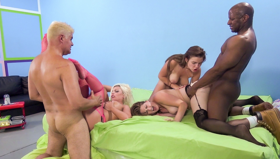 huge tits party with allison moore, britney amber and marina visconti