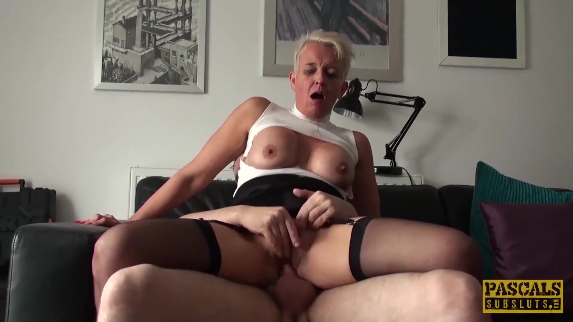 Video 1360882104: bdsm humiliation, fetish humiliation, cock humiliation, tits humiliation, big cock bdsm, mature humiliation, submitted, humiliated blonde, swallowing master, swallow older, swallows white