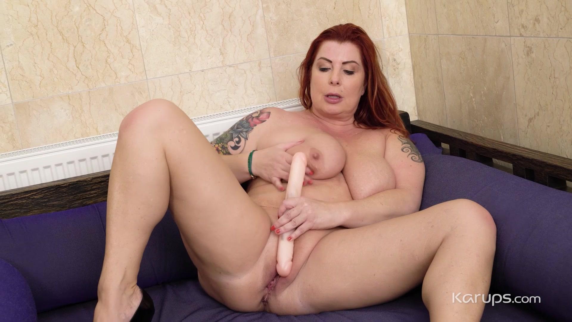 Video 1456452904: big tits sucking dildo, big natural tits dildo, curvy milf plays, milf loves playing, very busty