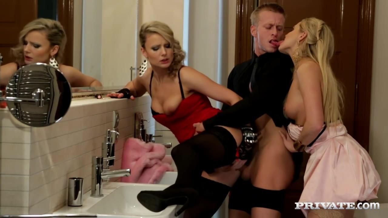Video 1500548804: barra brass, milf threesome anal hd, blonde milf threesome, stockings anal threesome
