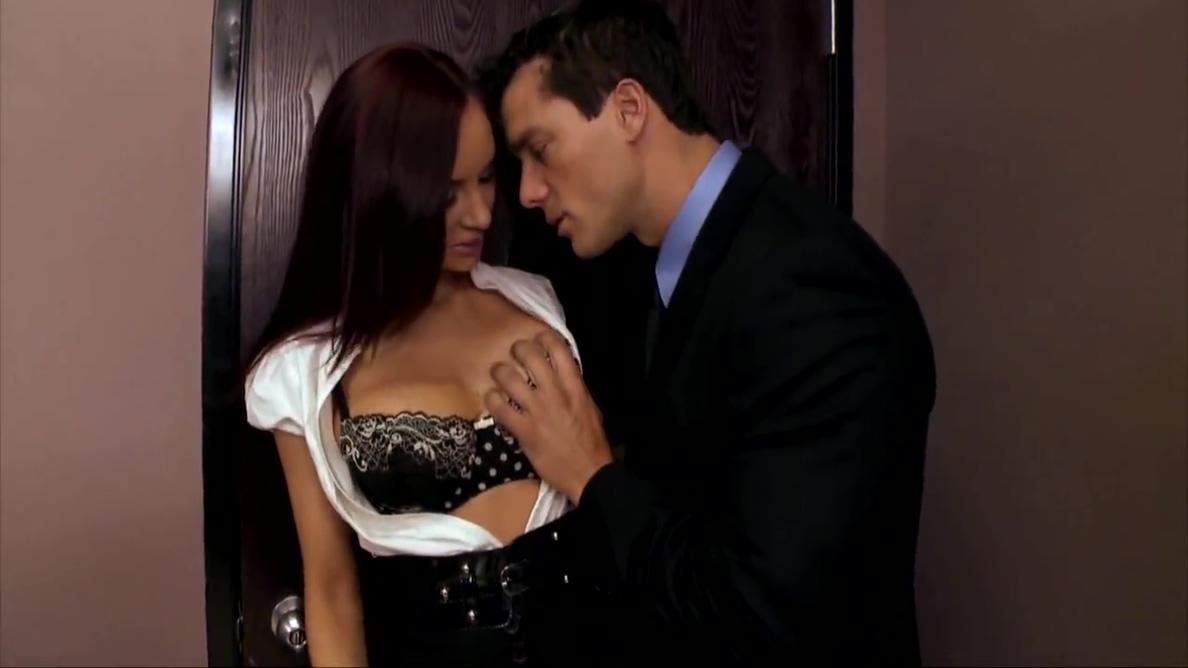 Video 1510498704: amy ried, ramon nomar, amy reid, big tits facial, sexy boss, stockings facial, brunette facial