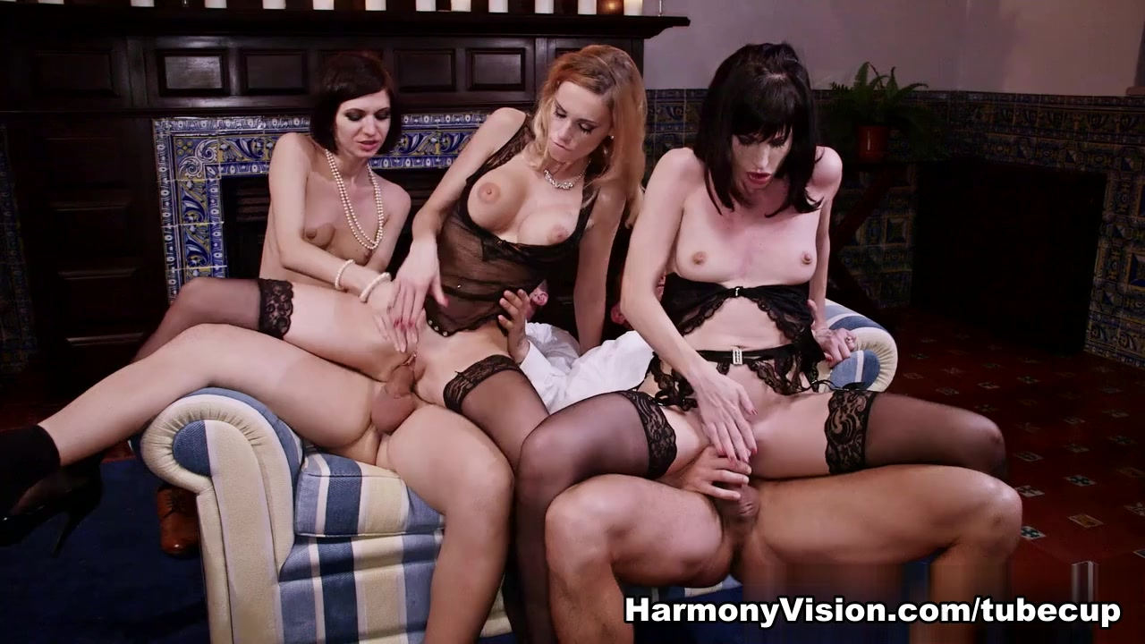 erica fontes & ava courcelles & arian while husbands are away - harmonyvision