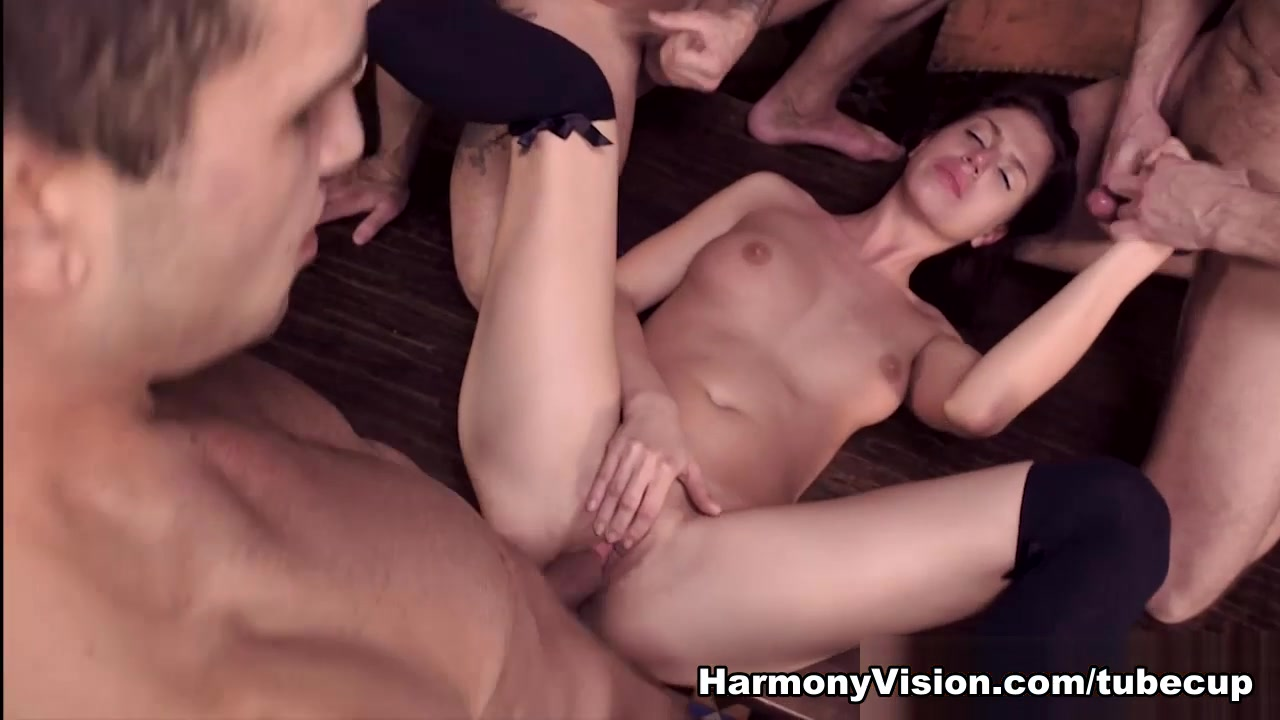 kristine crystalis in explosive double penetration - harmonyvision