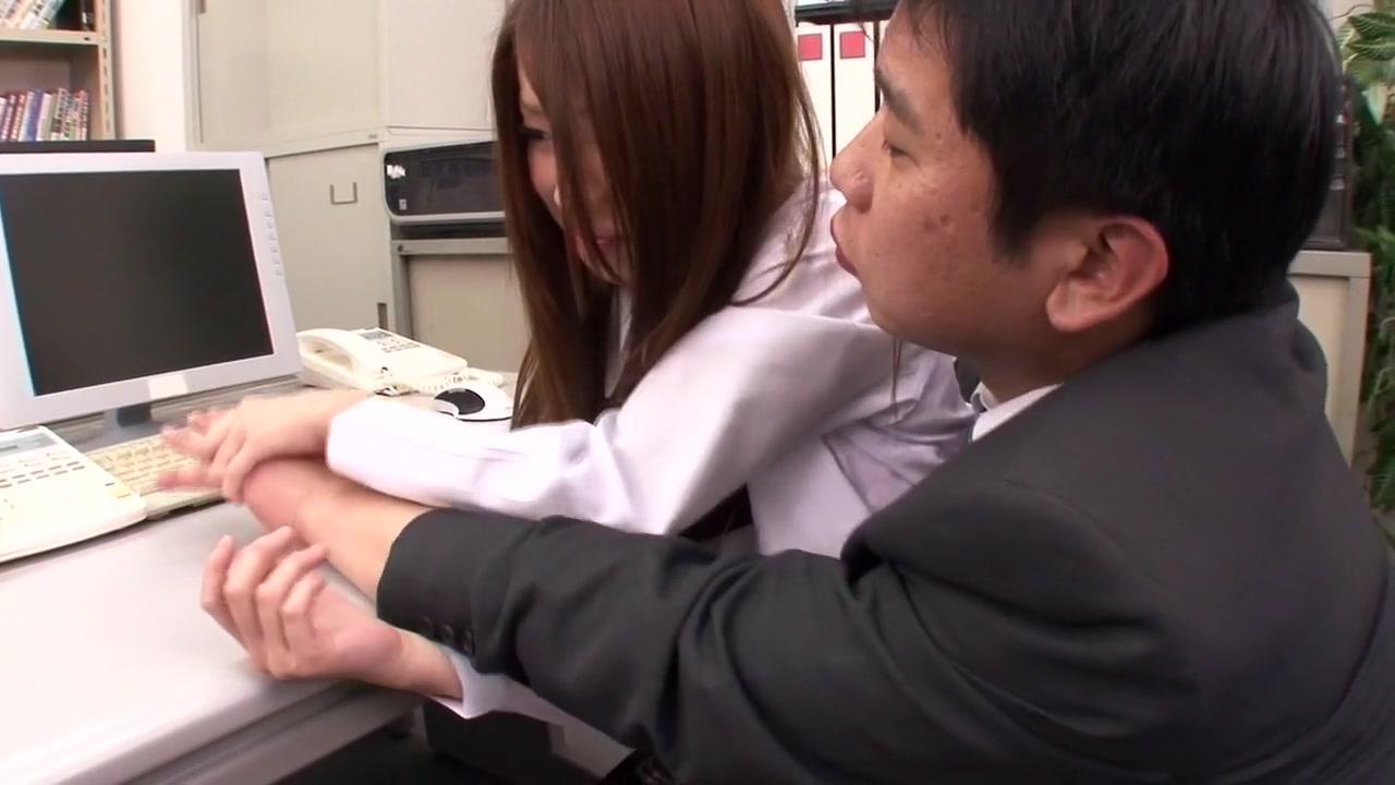 Crazy Japanese whore Mika Nakagawa, Yume Mizuki, Nao Kojima, Hikari in Exotic office, panties JAV video