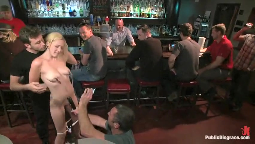 Publicly disgraced in bar
