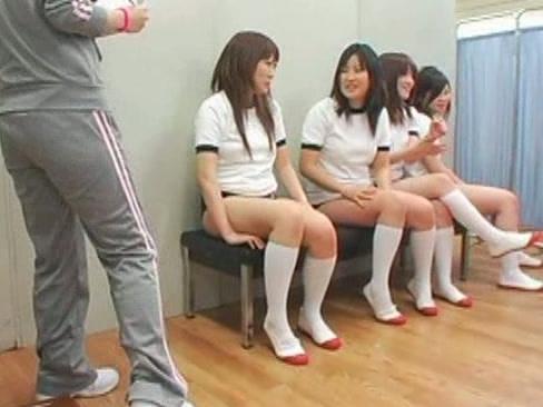 Осмотр японских девушек видео