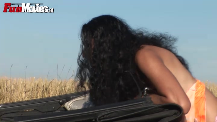 Romana in FunMovies video:Car Fuck