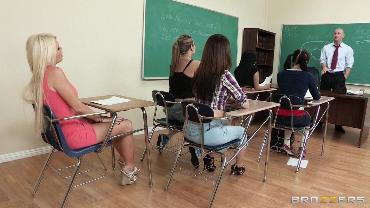 Big Tits at School: Teaching Mr. Sins