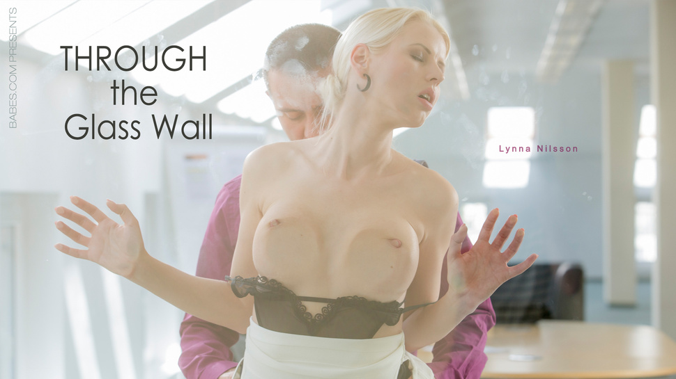 Lynna Nilsson in Through the Glass Wall - OfficeObsession