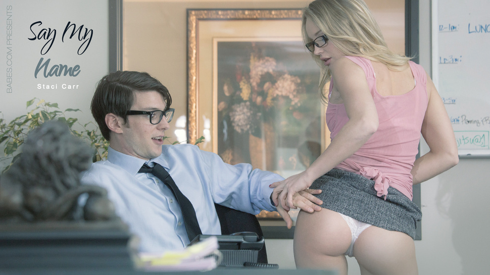 Staci Carr in Say My Name - OfficeObsession