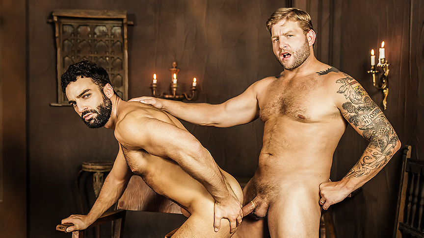 Abraham Al Malek & Colby Jansen  in My Brother The Hooker Part 3 - Str8ToGay