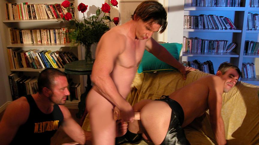 Brady Martin & Mark Galifiore & Ty Hudson in Behind The Secret Door Scene 3 - Bromo