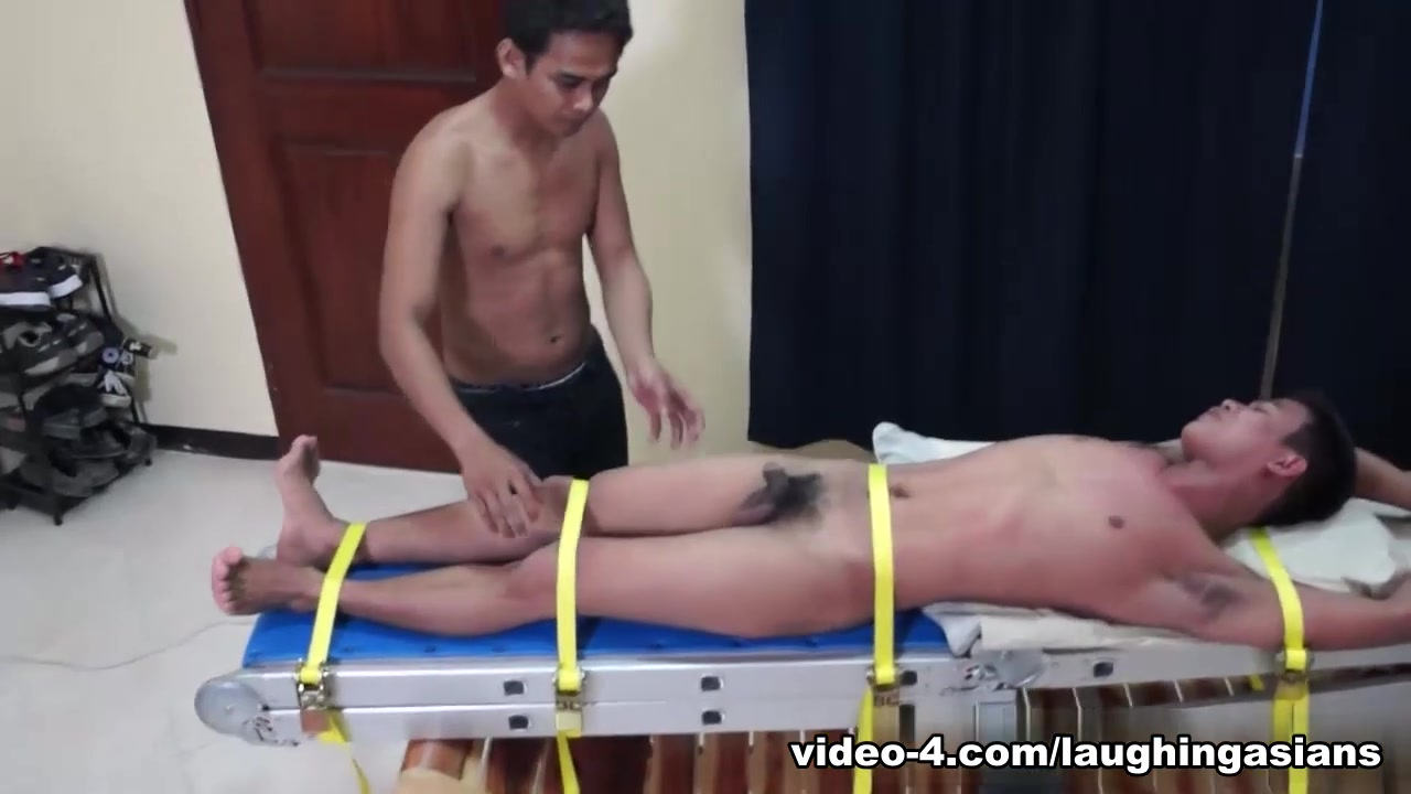Tickling Gay Asian Twink Warren - LaughingAsians