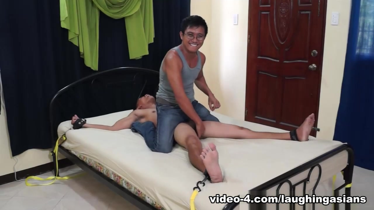 Tickling Gay Asian Twink Diego - LaughingAsians