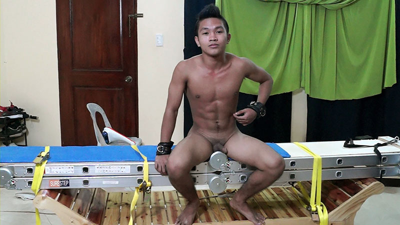 Tickling Gay Asian Twink Niko - LaughingAsians