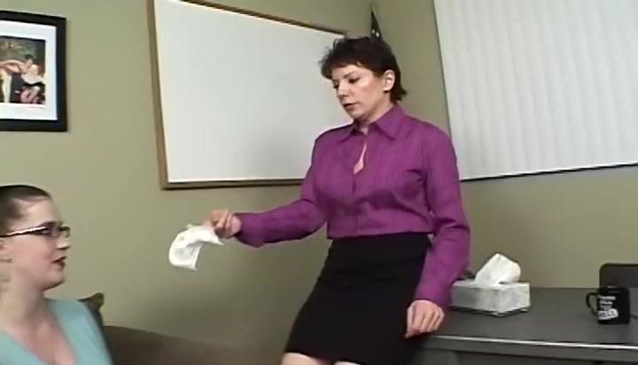 hot lesbian brunette porn video