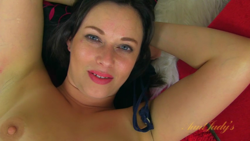 Anna Joy in Masturbation Movie - AuntJudys
