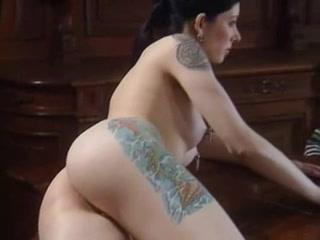 femdom with tatoo & piercing