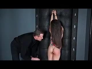 in this bdsm video we have a submissive girl in training on how to satisfy the sexual desires of her man .. enjoy watching