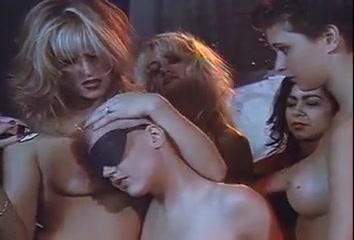 Lesbian oil and shaving orgy