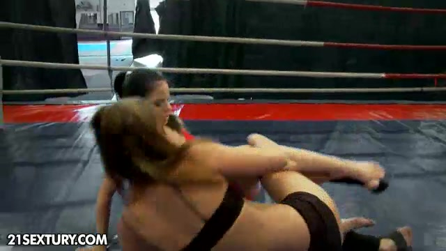 NudeFightClub presents Amirah Adara vs Jessyka Swan