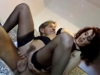 Hottest Stockings clip with German,Vintage scenes