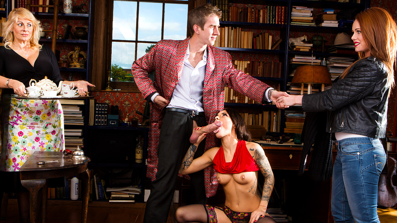 nikita bellucci, danny d in sherlock an episode of parody xxx 1 - digitalplayground