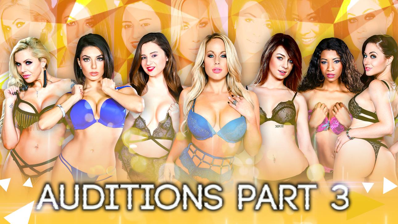 Aspen Ora, Darcie Dolce, Elektra Rose, Eva Lovia, Jessica Ryanin Season 2 - Auditions Part 3 - DigitalPlayground