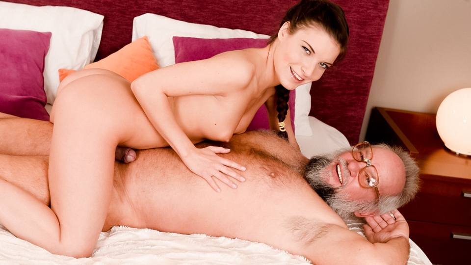 Anita Bellini in Anita Keeps Grandpa in Shape - 21Sextreme