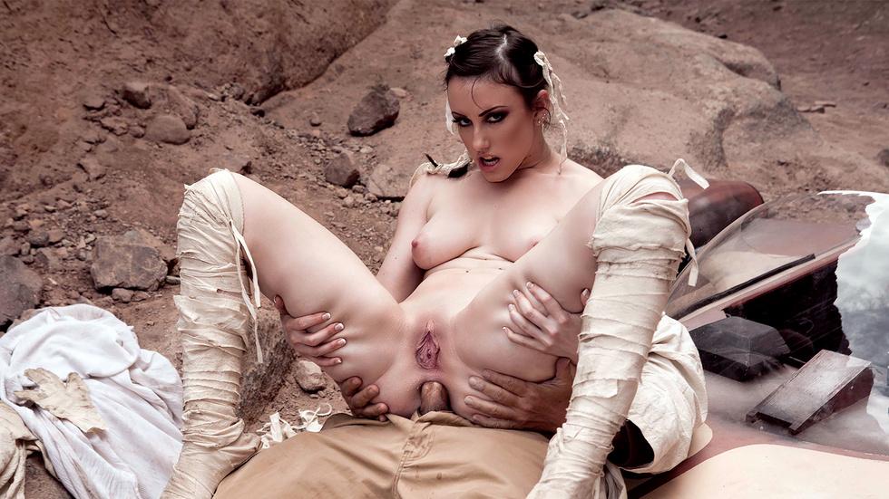 Jennifer White in Star Wars XXX: A Porn Parody, Scene 2 - Wicked