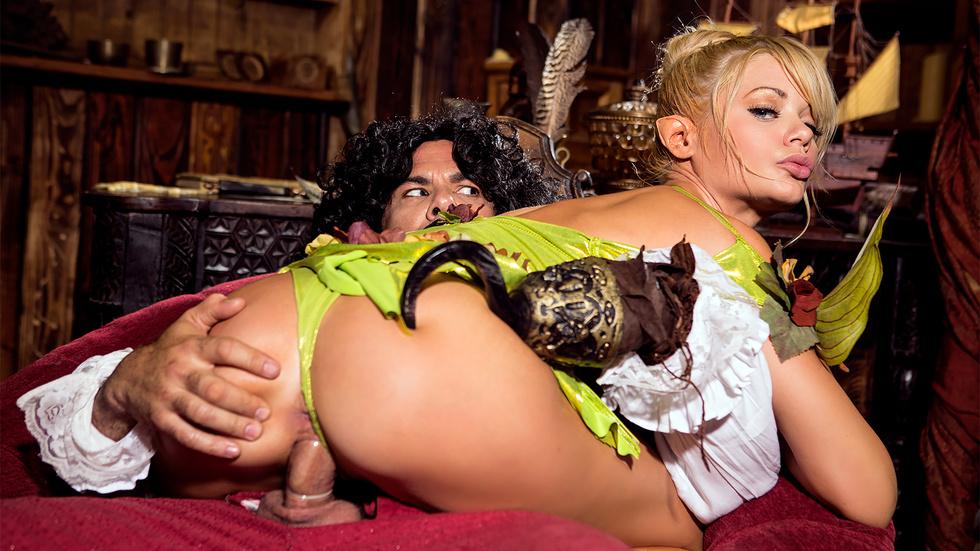 Riley Steele in Peter Pan XXX: An Axel Braun Parody, Scene 2 - Wicked