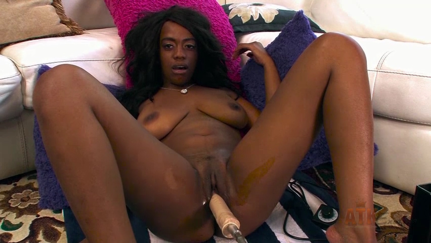 Amber Cream in Sex Machine Movie - AtkExotics