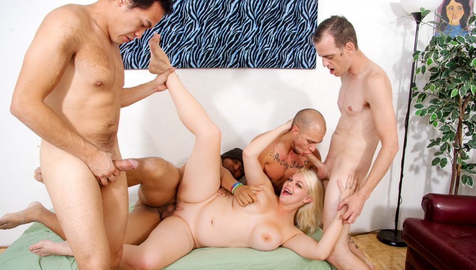 Chad Diamond in Bi Cuckold Gang Bang #09, Scene #01 - DevilsFilm