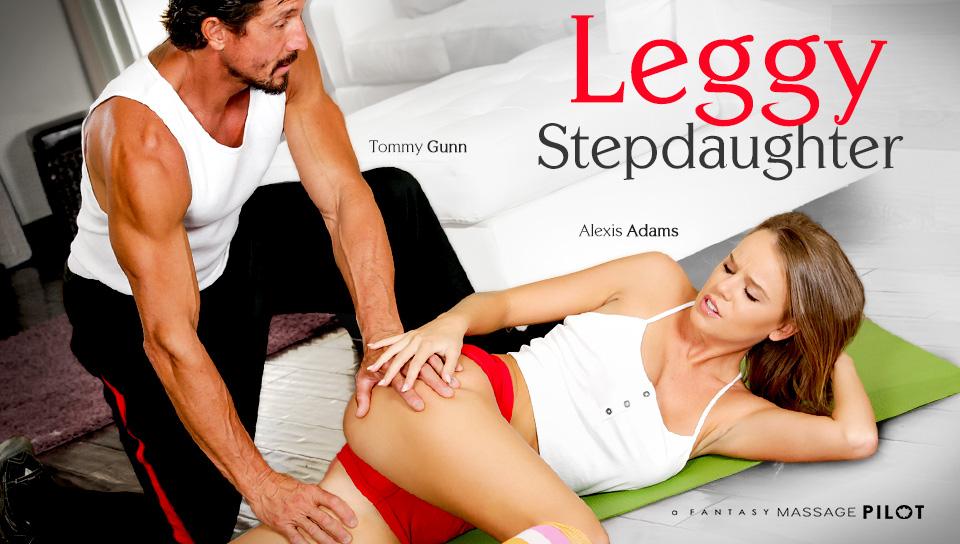 alexis adams in stepdaughter with legs, scene # 01 - fantasymassage