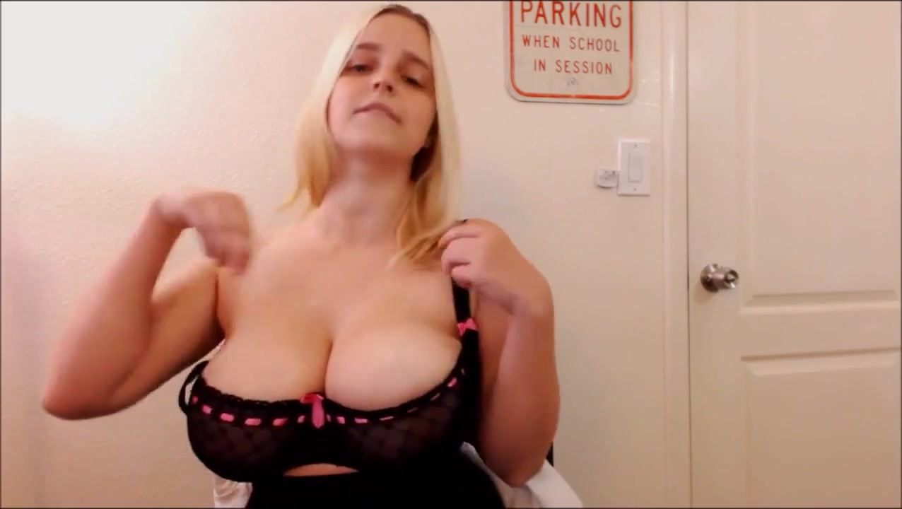 junior secretary joi with huge tits hanging out