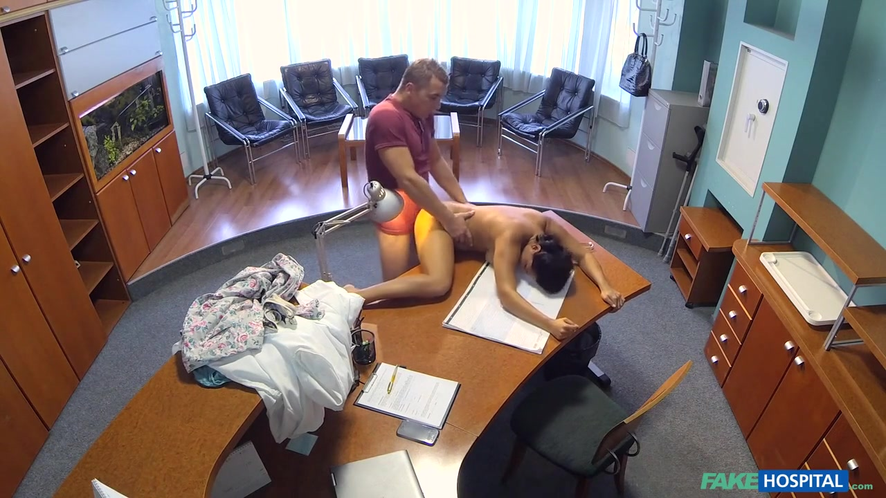 Alexis in Hot nurse seduces and fucks her old college professor - FakeHospital