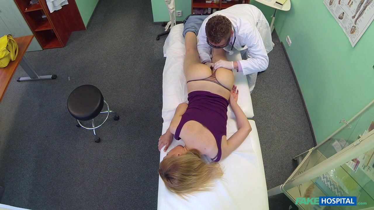 Gina in Doctors trusty cock ignores the language barrier and makes sexy russian scream with pleasure - FakeHospital