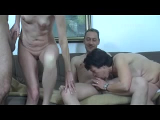 German Mature Swingers Fuck Party