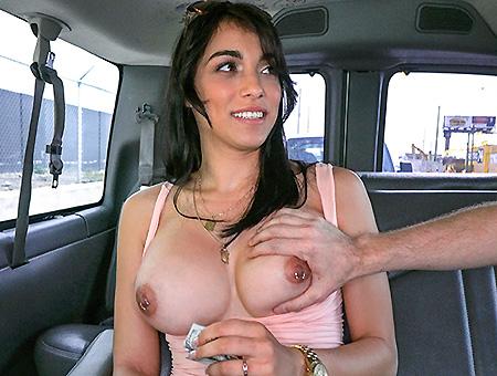 Jessi in Jessi and her Bangin' Ride through Hialeah - BangBus
