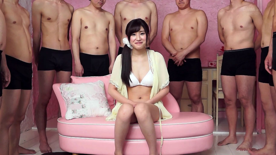 Suzu Mitake in Suzu Does Her First Pussy Bukkake - EritoAvStars