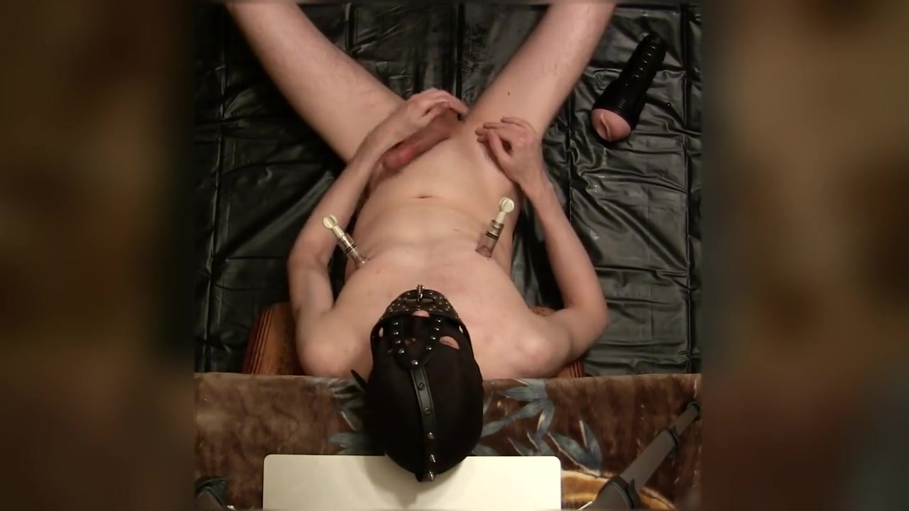 Fucked Flesh Light Pussy under the BDSM