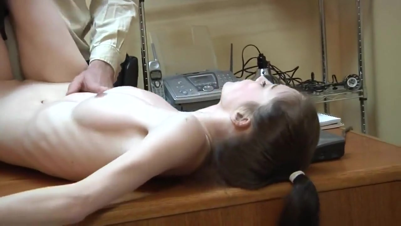 College girl  get Fuck in the Office Free In the Office HD Porn 28