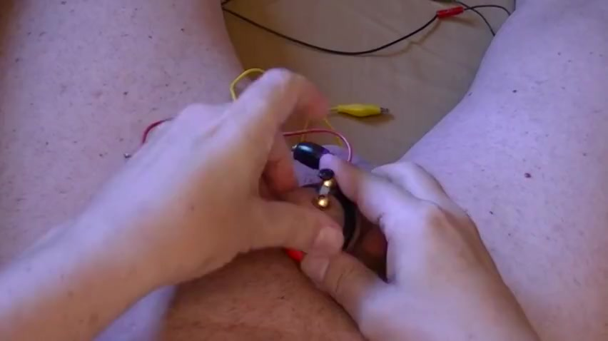 Electro estim fun 124-20150807l part-1-raising cock
