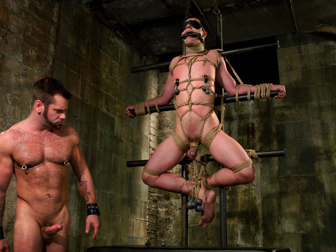 Master Tober Brandt and slave brandon hawk