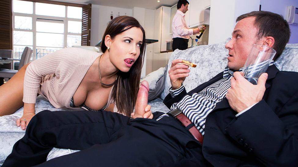 порно жена босса изменила