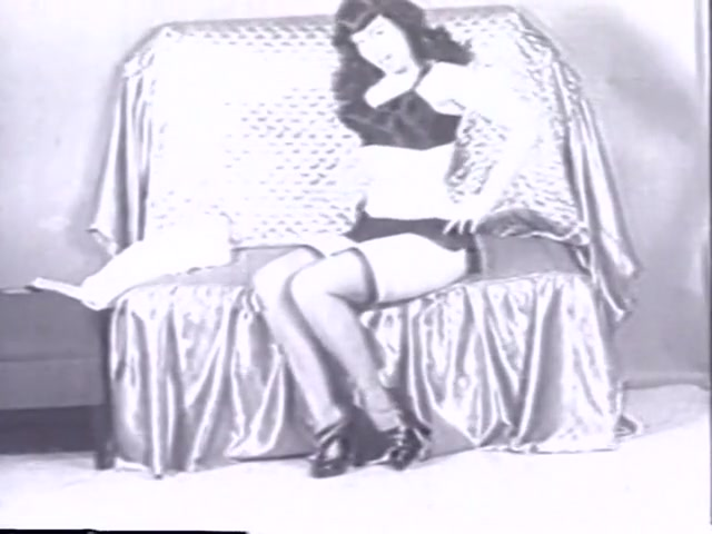 Exotic pornstar Betty Page in best vintage, stockings porn video