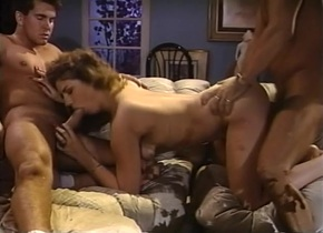 pornstar sexy mercedes lynn in the best vintage, threesomes porn video