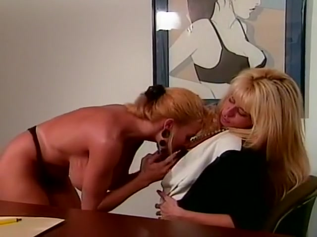 Horny pornstar Brittany Saks in exotic strapon, blonde xxx movie