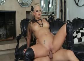 amazing pornstar phoenix marie in hot blonde, adult blowjob clip